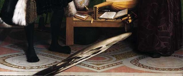 Embaixadores, Holbein, anamorfose, Renascimento