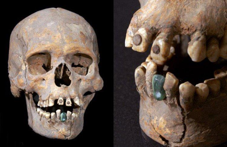 Mulher de Tlailotlacan, descoberto em Teotihuacán, México.