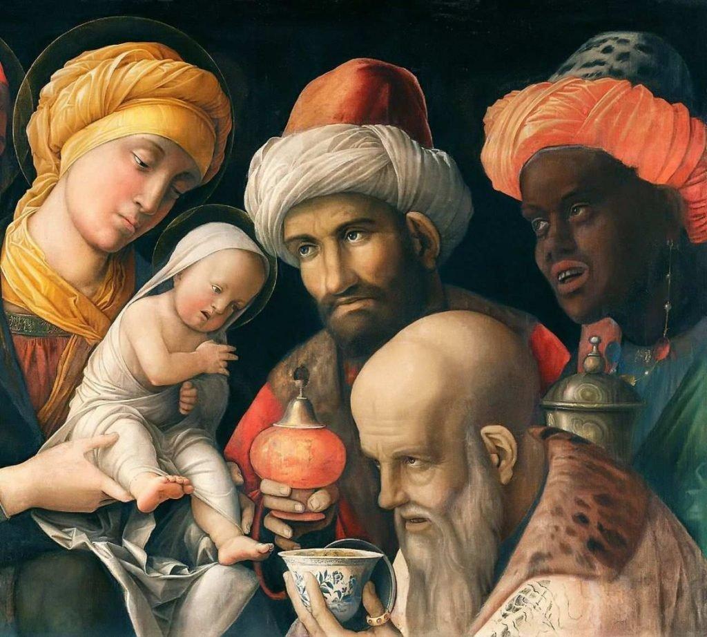 Reis Magos, de Andrea Mantegna