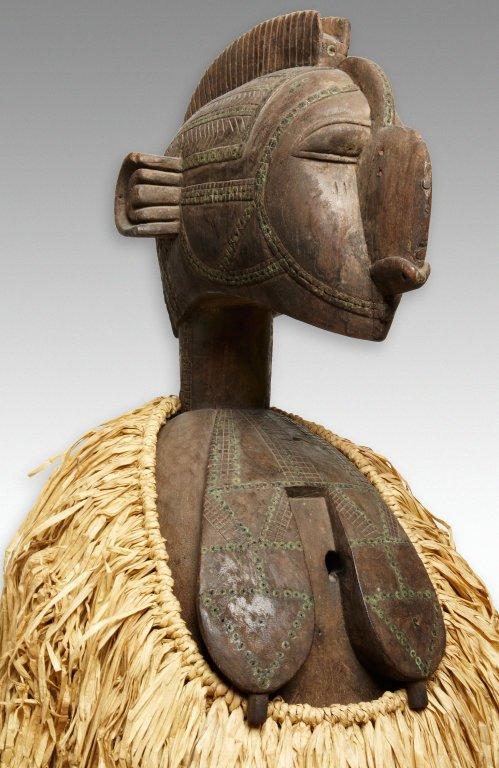 Máscara Baga, de Guiné-Bissau.
