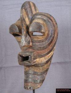 Máscara Africanas Songye, República Democrática do Congo.