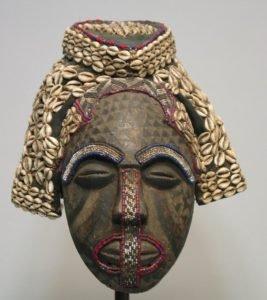 Máscara Africanas Kuba, República Democrática do Congo.