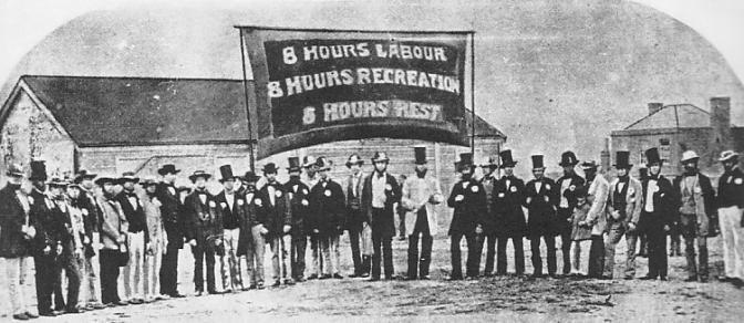 Trabalhadores, Austrália, 1912