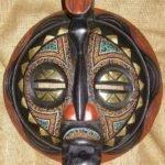 Máscara Africanas Baluba, República Democrática do Congo.