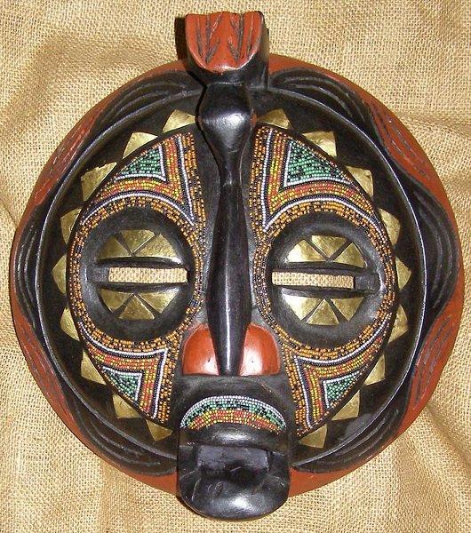 Máscara Baluba, República Democrática do Congo.