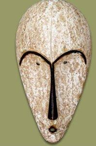 Máscara Africanas Fang, Gabão, Guiné e República dos Camarões.