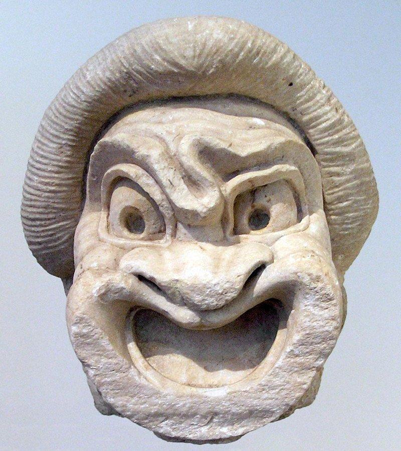 Máscaras do teatro grego