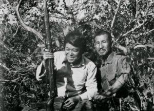 Norio Suzuki e Hiroo Onoda
