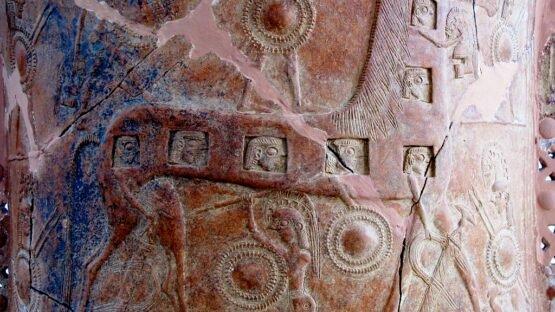 Cavalo de Troia em cerâmica do séc. VIII a.C.
