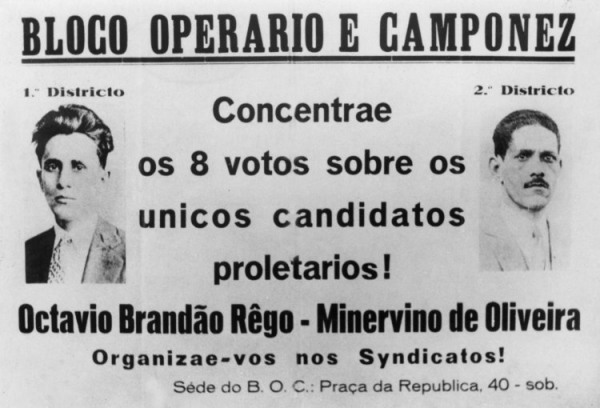 Cartaz do BOC, 1928