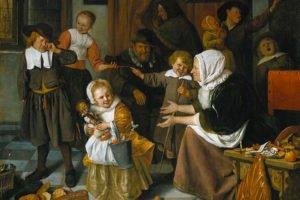 A festa de Natal, Jan Steen