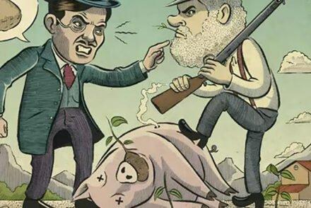 guerra do porco