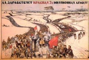 propaganda bolchevique, 1919.
