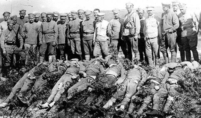 tchecos mortos por bolchevique