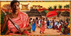 Yaa Asantewa, rainha mãe de Axânti