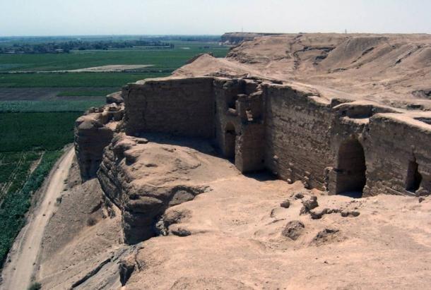Fortificações de Dura-Europos, na Siria.