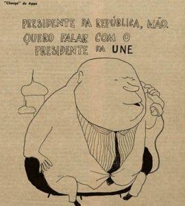 Charge de Appe, O Cruzeiro, 1962.