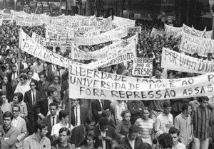Passeata dos Cem Mil, 26/6/1968, RJ