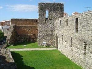 Castelo templário de Soure, Portugal.