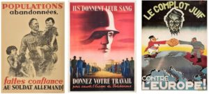 Cartazes de propaganda nazista