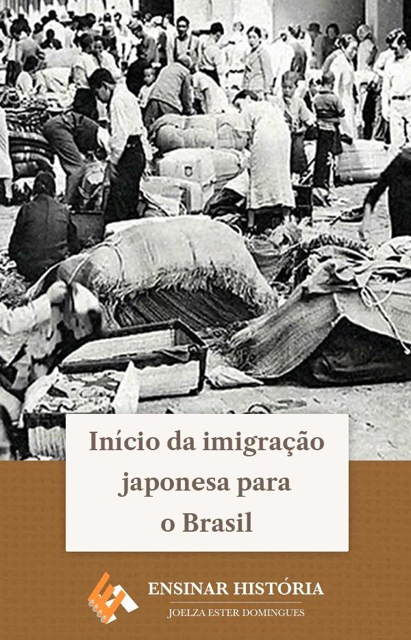 Início da imigração japonesa para o Brasil