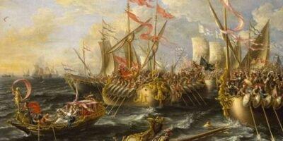 batalha naval de Áccio