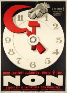 Campanha eleitoral na Suíça, 1935