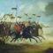 """Carga de Cavalaria"", óleo sobre tela, de Guilherme Lkitran, 1893, Museu Júlio de Castilhos, Porto Alegre, Brasil."