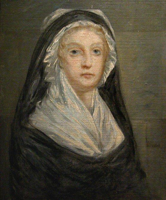 Maria Antonieta em 1793