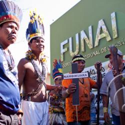 a Fundação Nacional do Índio