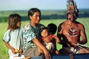 Os guaranis ocupam a America do Sul
