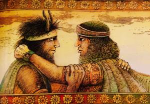 Amizade de Gilgamesh e Enkidu