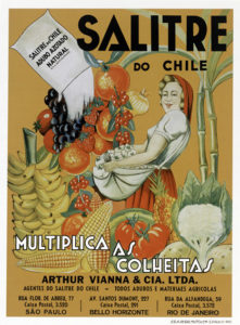 Cartaz do salitre do Chile