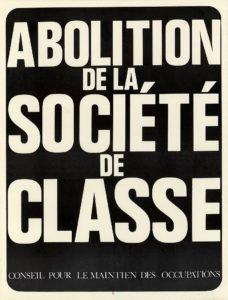 cartaz francês, maio de1968