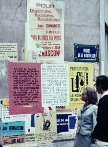 Cartazes, maio 1968