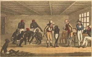 Mercado de escravos no Rio de Janeiro