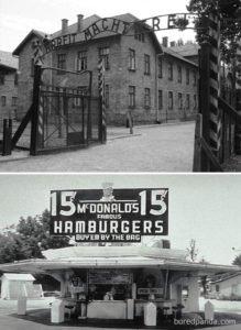 Auschwitz e McDonald's
