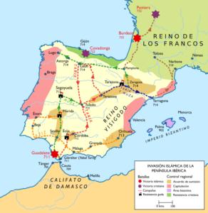 Conquistas islâmicas na Península Ibérica