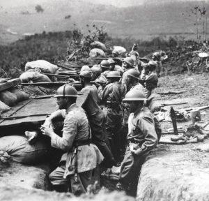 Trincheira, 1932