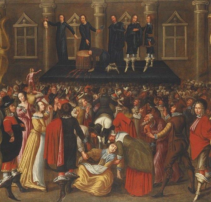 execução do rei Carlos I