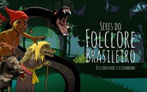 Capa do jogo Seres do folclore brasileiro - Descubra onde se esconderam