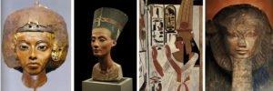 Mulheres egípcias poderosas