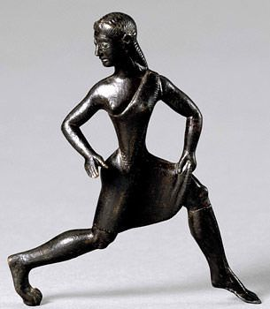 mulher praticando corrida