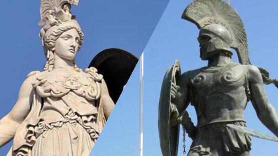 Atenas versus esparta